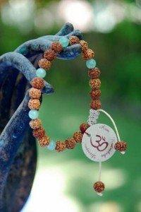 BTF-7 bracelet rudraksha mala yoga